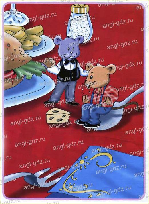 The Town Mouse and the Country Mouse - 1