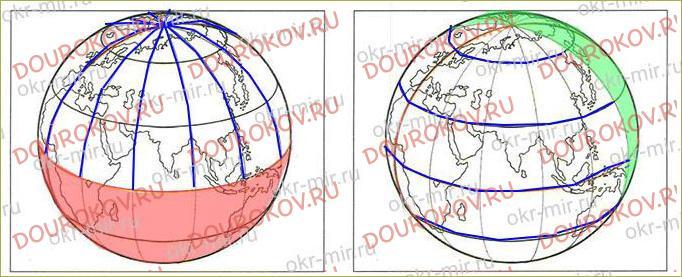 Тема 13. Глобус и карта - 11