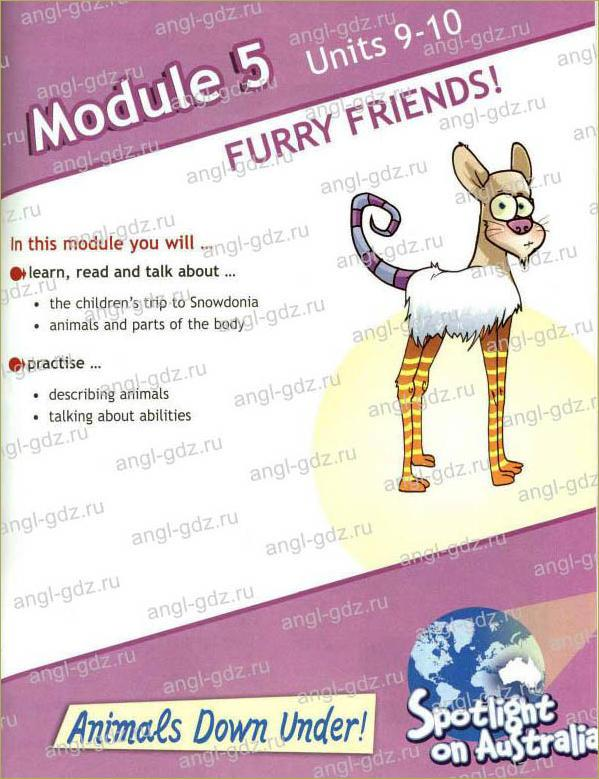 Module 5. Furry friends! - 1