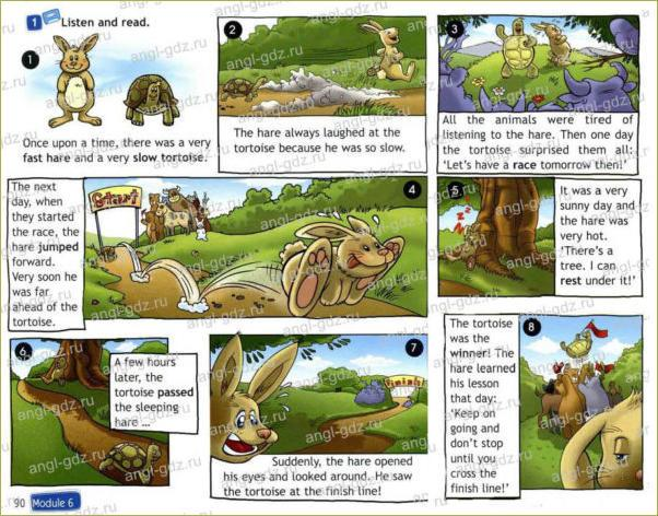 The Hare and the Tortoise! (A) - 1