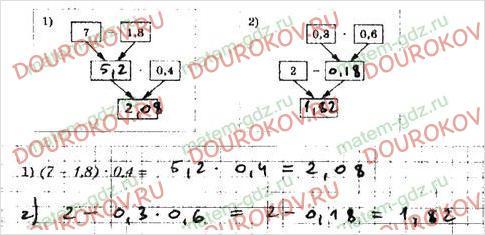 Рабочая тетрадь по математике Мерзляк Полонский Якир 5 класс 2 часть - §34. Умножение десятичных дробей - 6
