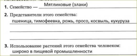 §26. Семейства класса Однодольные - 2