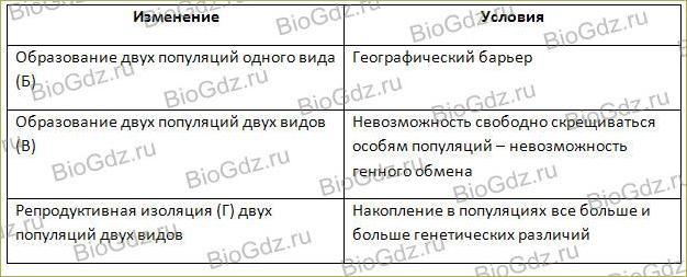 Видообразование - 1